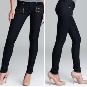 Paige denim edgemont twilight skinny zip jean pant